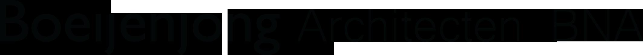 Boeijenjong Architecten Logo